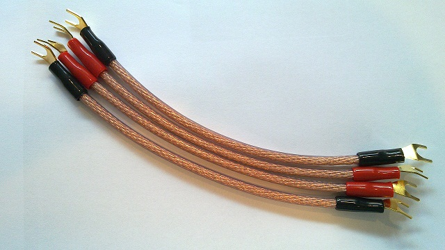 Custom Cable Company : Custom cable speaker link jumpers