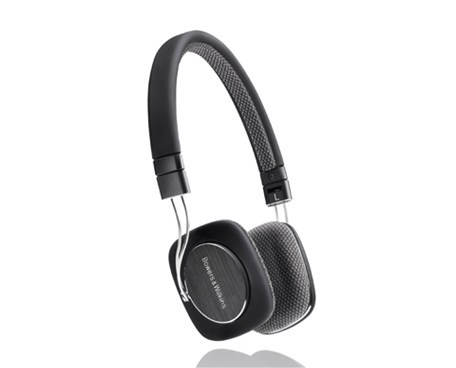 B&W P3 Headphones Black