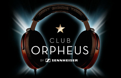 Sennheiser Club Orpheus Logo Banner