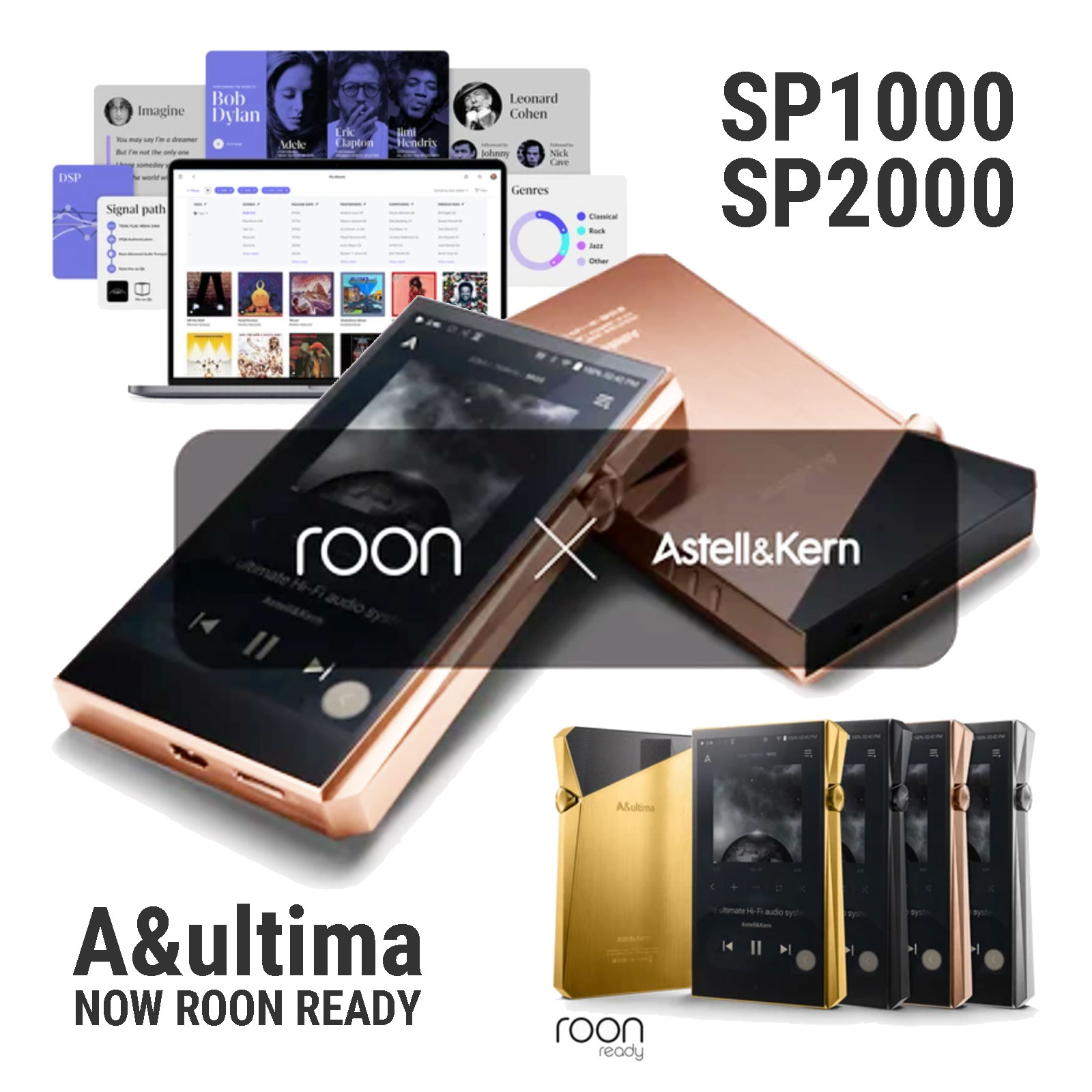 Astell&Kern A&ultima Players Now Roon-Ready | Audio Sanctuary