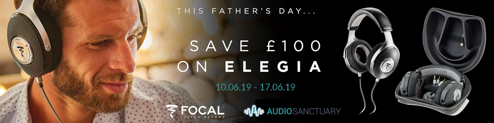Focal Elegia Closed-Back Headphones | Fathers Day 2019 Offer