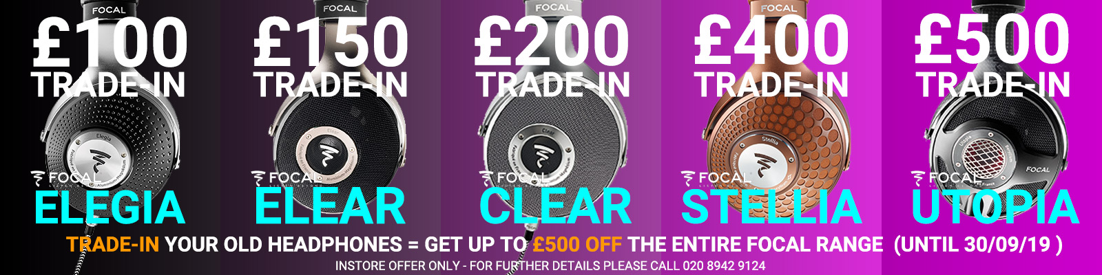 Trade-In Your Old Headphones For Up To &poundl500 Discount | Audio Sanctuary