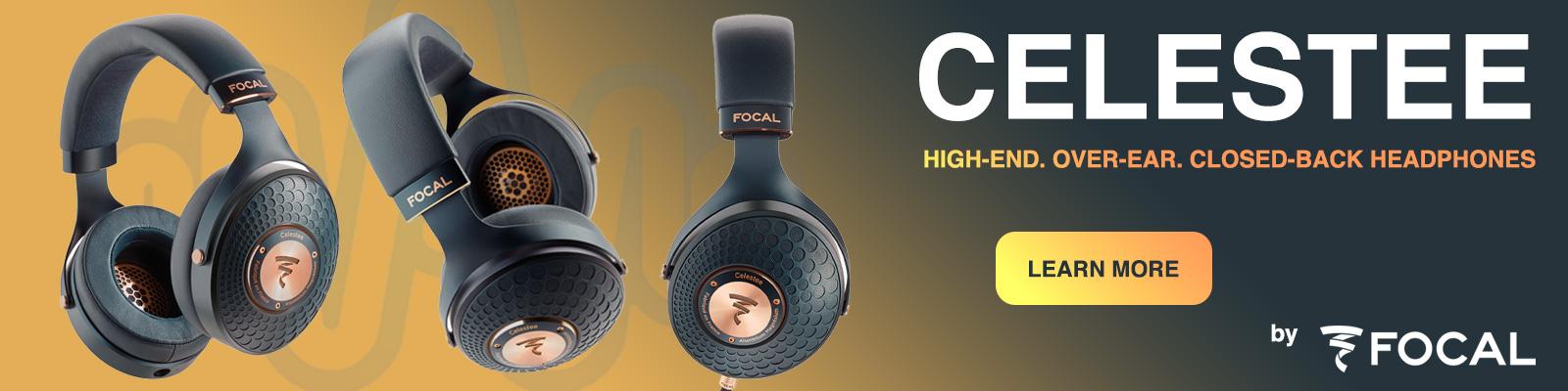 Celestee High-End, Over-Ear, Closed-Back Headphones, by Focal