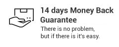14 Days Money Back Guarantee
