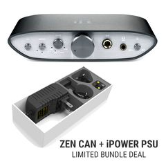 ZEN CAN Fully-Balanced High-Power Headphone Amplifier + iPower PSU Bundle Deal | iFi Audio