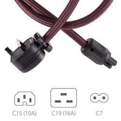 Eos Superior Mains Power Lead | Atlas Cables