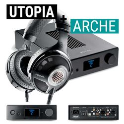 Arche Headphone Amp / DAC + Utopia Open-Back Headphones | Focal Bundle Deal