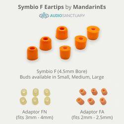 Symbio F Eartips | MandarinEs