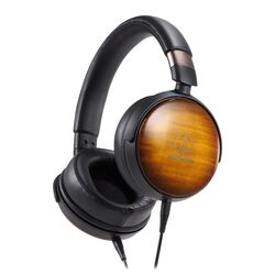 ATH-WP900 Portable Over-Ear Wooden Headphones | Audio-Technica