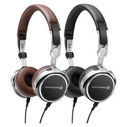 Aventho Wired (Black / Brown) Mobile Tesla High-End Dynamic Headphones | Beyerdynamic