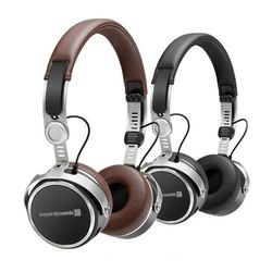 Aventho Wireless (Black / Brown) Mobile Tesla High-End Dynamic Headphones | Beyerdynamic
