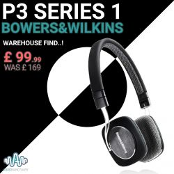 P3 Series 1 Headphones | Bowers & Wilkins