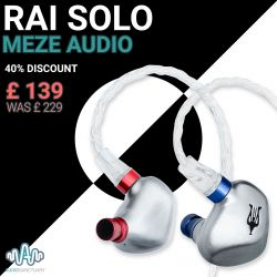 Rai Solo Earphones - Price Reduction | Meze Audio