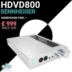HDVD800 Headphone Amplifier - Warehouse Find! | Sennheiser