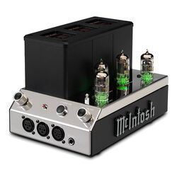 HMA200 2-Channel Vacuum Tube Headphone Amp | Mcintosh Labs