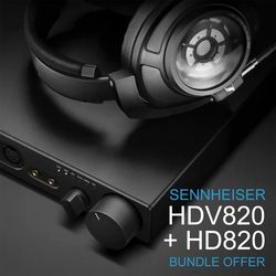 HD820 + HDV820 | Sennheiser 75th Anniversary Bundle Offer