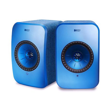 KEF Audio | LSX Wireless Speaker System (Blue)