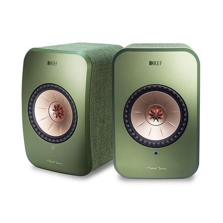 KEF Audio | LSX Wireless Speaker System (Olive Green)