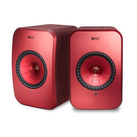 KEF Audio | LSX Wireless Speaker System (Red)