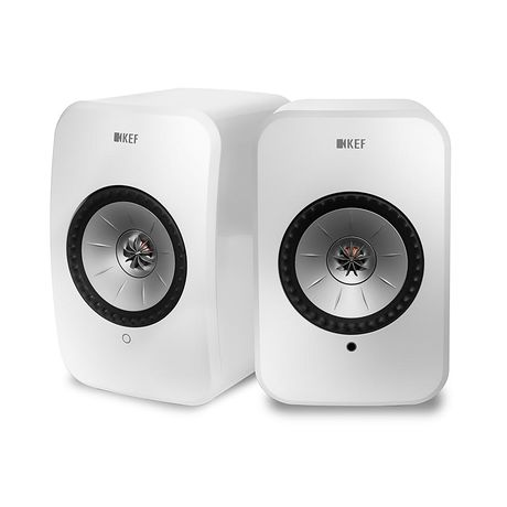 KEF Audio | LSX Wireless Speaker System (Gloss White)