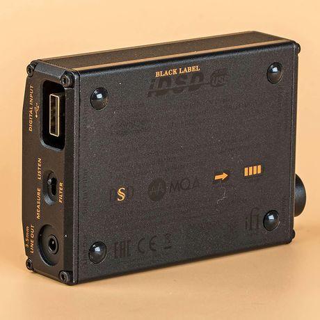 Nano iDSD Black Label Portable DAC / Headphone Amp | iFi Audio