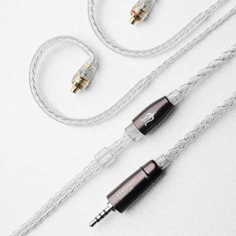 Balanced Silver-Coated Upgrade Cables for Rai Penta   Meze Audio