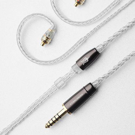 Balanced Silver-Coated Upgrade Cables for Rai Penta | Meze Audio