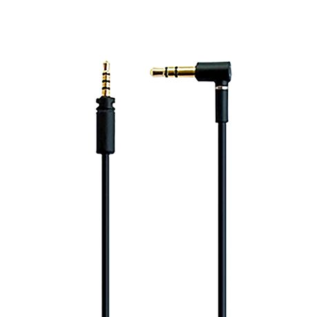 Momentum 3 Audio Cable, Black, 3.5mm Stereo Jack | Sennheiser Spare Parts 508471