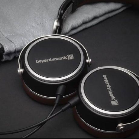 Aventho Wired (Black / Brown) Mobile Tesla High-End Dynamic Headphones | Beyerdynamic