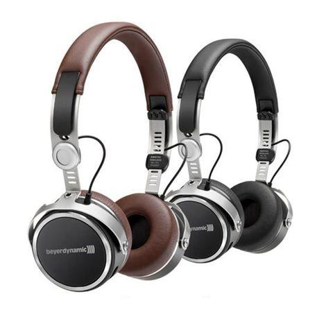 Aventho Wireless (Black / Brown) Mobile Tesla High-End Dynamic Headphones | Beyerdynamic
