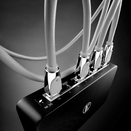 8Switch 8-Port Audio Grade Gigabit Streaming Switch | English Electric