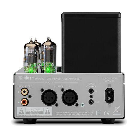 HMA200 2-Channel Vacuum Tube Headphone Amp | Mcintosh Labs