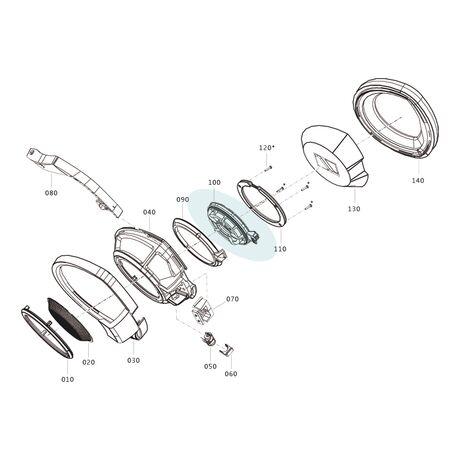 Official HD800 Replacement Ear Capsule / Driver Unit   Sennheiser