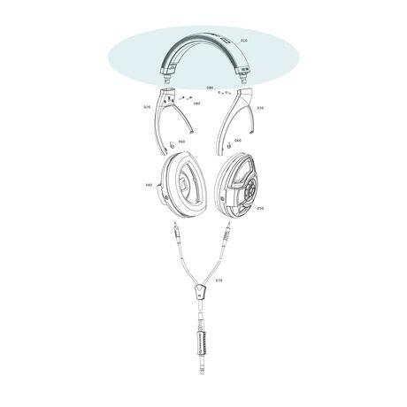 Official HD700 Replacement Headband | Sennheiser