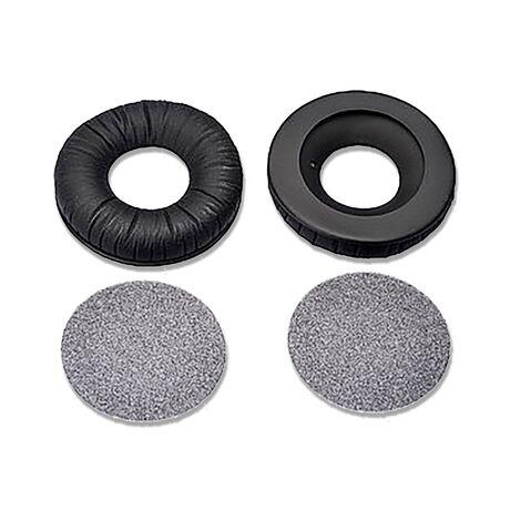 Replacement Black Ear Pads + Foam Discs (Pair) for HD25 Headphones   Sennheiser