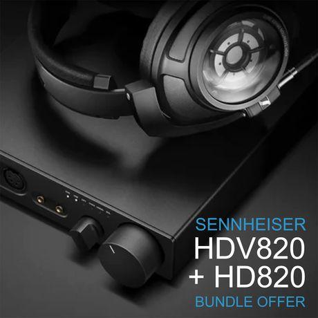 HD820 + HDV820   Sennheiser 75th Anniversary Bundle Offer