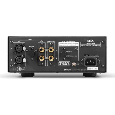 SRM-700S Semiconductor Type High-End Electrostatic Driver   STAX Audio