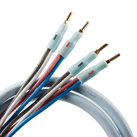 Quadrax Speaker Cable (2x4mm)   Supra Cables
